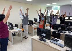 [노인통합건강증진프로그램] 7월 '건강하go,행복하go' 프로그램 진행