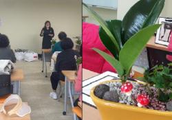 """[2020.11.10.]기린봉노인복지관 특강 프로그램 """"공기 정화식물 만…"""