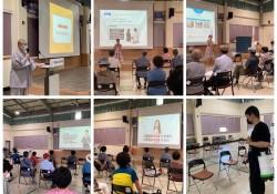 2021 노인사회활동지원사업 참여자 사업단별 2차 소양·안전교육 진행